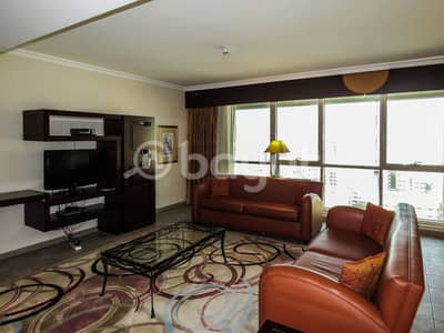 3 Bedroom Hotel Apartment for Rent in Deira, Dubai - Furnished 3 Bedroom Hotel Apartment Available