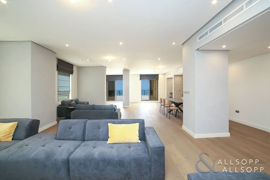 10 Upgraded | Penthouse | Sea View l 5 Beds