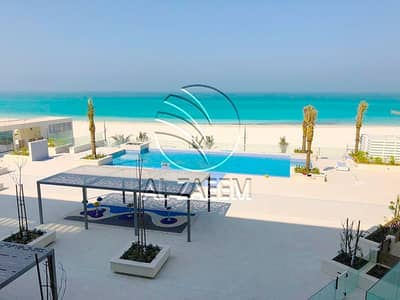 4 Bedroom Apartment for Sale in Saadiyat Island, Abu Dhabi - Waterfront living in mind? Beach front new 4BR Apt