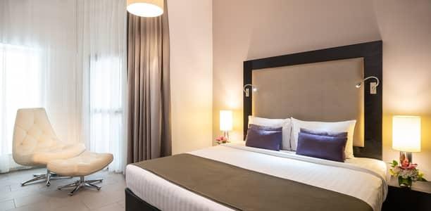 1 Bedroom Apartment for Rent in Barsha Heights (Tecom), Dubai - Bedroom