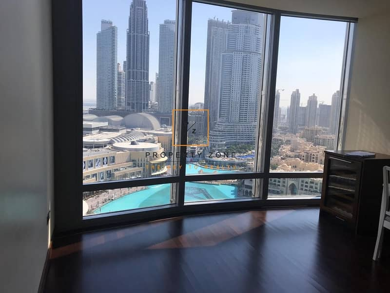 2 Facing Fountain View I I Bed I Vacant I Burj Khalifa