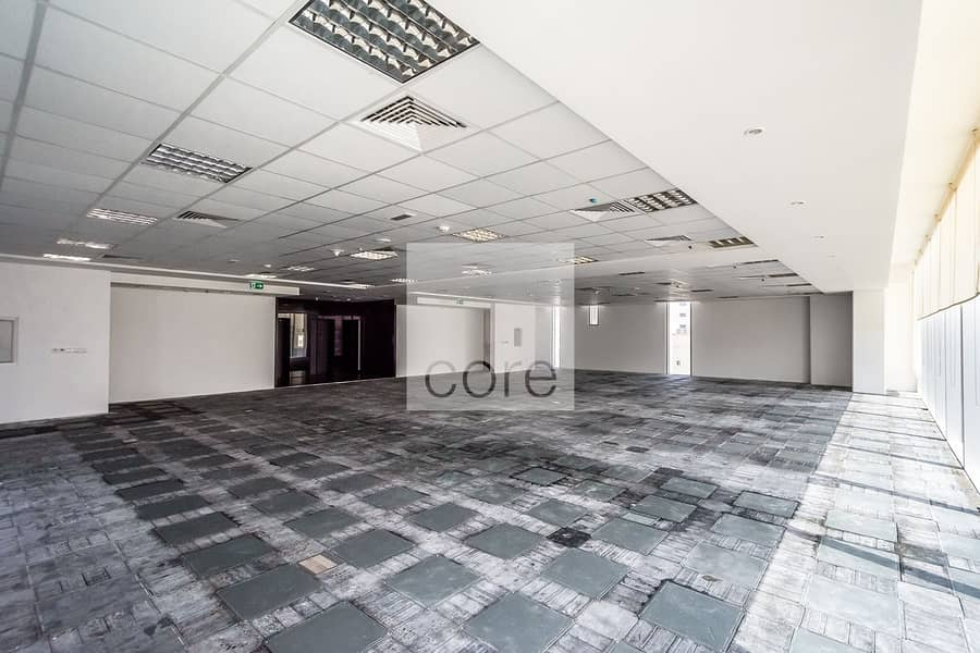 Spacious fitted office on low floor for rent