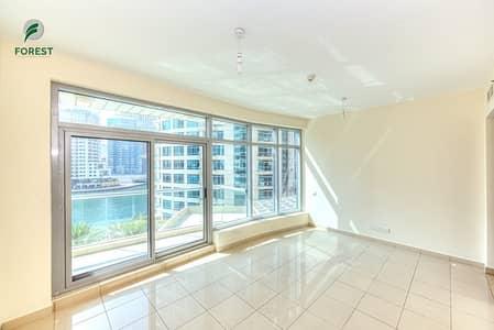 شقة 1 غرفة نوم للبيع في دبي مارينا، دبي - 1 BR with Full Marina View| Low Floor| Unfurnished