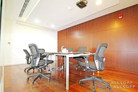 Office for Sale in Business Bay, Dubai - Fitted | Furnished | Metro | Private Washroom