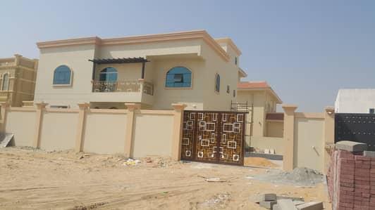 6 Bedroom Villa for Rent in Al Raqaib, Ajman - Villa for rent in Ajman first inhabitant Super Deluxe