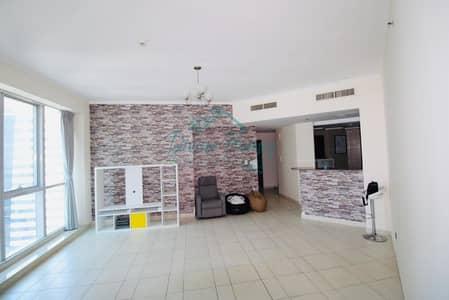 2 Bedroom Apartment for Rent in Dubai Marina, Dubai - Higher Floor   Sea and Marina View   Close to Tram n Marina Walk