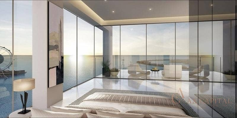 10 BEACHFRONT LIVING I 3 BEDROOM IN 1 JBR I CLOSE TO HADNOVER