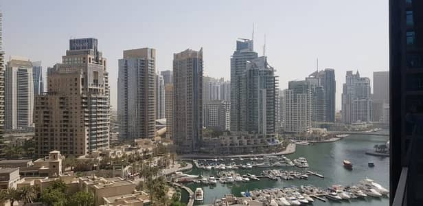 شقة 2 غرفة نوم للايجار في دبي مارينا، دبي - C-TYPE | Lovely Marina view | Unfurnished Apt.