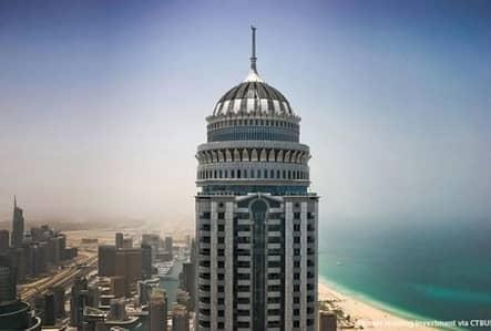 فلیٹ 2 غرفة نوم للايجار في دبي مارينا، دبي - Full Sea View   Mid Floor   Well Maintained