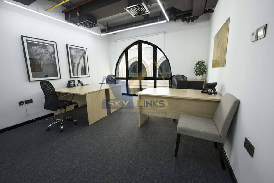 Burj Khalifa View Office Space Available For Rent