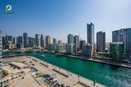 شقة 2 غرفة نوم للبيع في دبي مارينا، دبي - Exclusive | Full Marina View | Next to the Beach