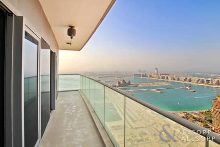1 Bedroom Apartment for Sale in Dubai Marina, Dubai - Fendi| Vacant| High Floor| Full Sea Views