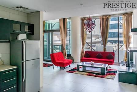 شقة 1 غرفة نوم للايجار في دبي مارينا، دبي - 1 Bedoom Furnished | Vacant  Furnished