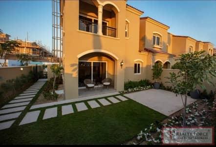 تاون هاوس 3 غرف نوم للبيع في سيرينا، دبي - PARK FACING   END UNIT   25/75 PAYMENT PLAN