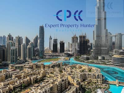 2 Bedroom Flat for Sale in Downtown Dubai, Dubai - luxurious fully furnished 2 Bedroom overlooking Burj Khalifa