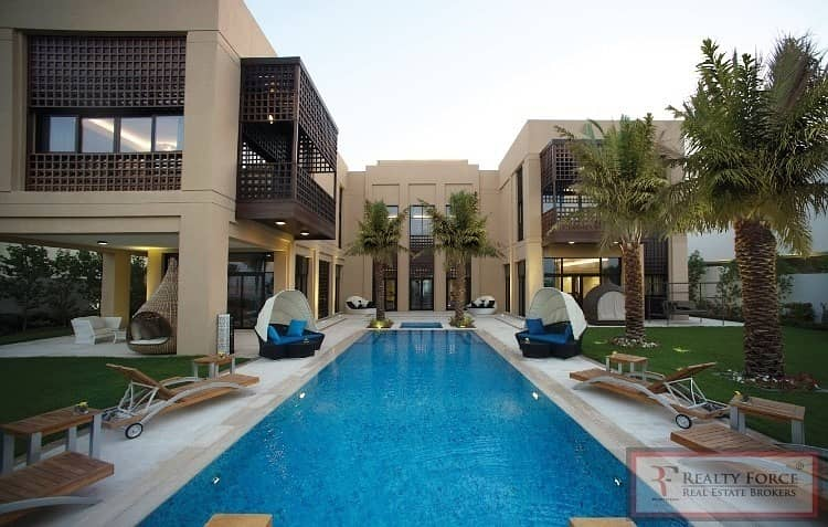 ON THE LAGOON | FULLY FURNISHED| MODERN ARABIC