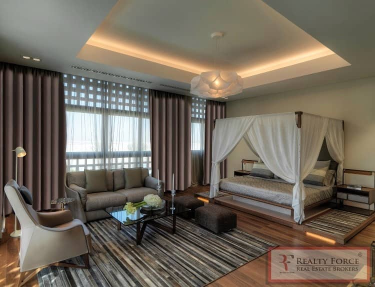 2 ON THE LAGOON | FULLY FURNISHED| MODERN ARABIC