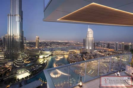3 Bedroom Flat for Sale in Downtown Dubai, Dubai - PRICED TO SELL|HIGH FLOOR|BURJ & FOUNTAIN VIEW