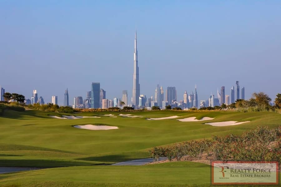 10 SINGLE ROW | TYPE B1 | FULL GOLF COURSE VIEW