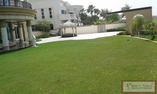 فیلا 8 غرف نوم للايجار في تلال الإمارات، دبي - LARGE PLOT | VACANT | FULL GOLF COURSE VIEW