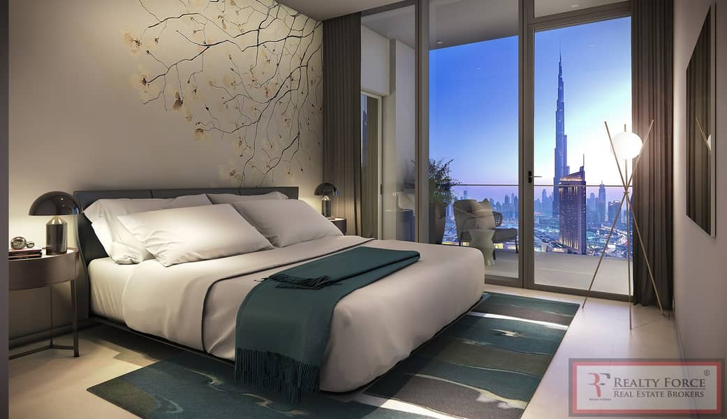 2 High Floor| Facing Burj Khalifa & Fountain
