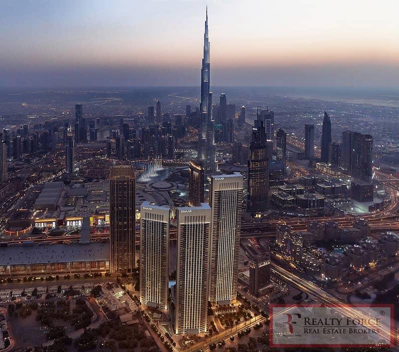 7 High Floor| Facing Burj Khalifa & Fountain
