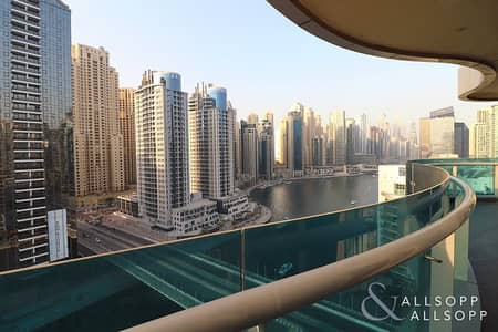 2 Bedroom Apartment for Sale in Dubai Marina, Dubai - Full Marina View | 2Bed | Close To Beach<BR/>