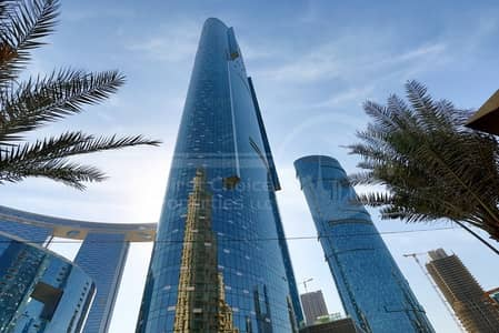 2 Bedroom Apartment for Rent in Al Reem Island, Abu Dhabi - Luxurious 2BR+Maid's Room in Gate District