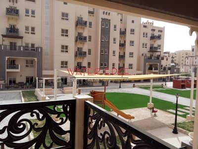 2 Bedroom Flat for Rent in Remraam, Dubai - 2BR with Balcony I Well Kept I Nice Location