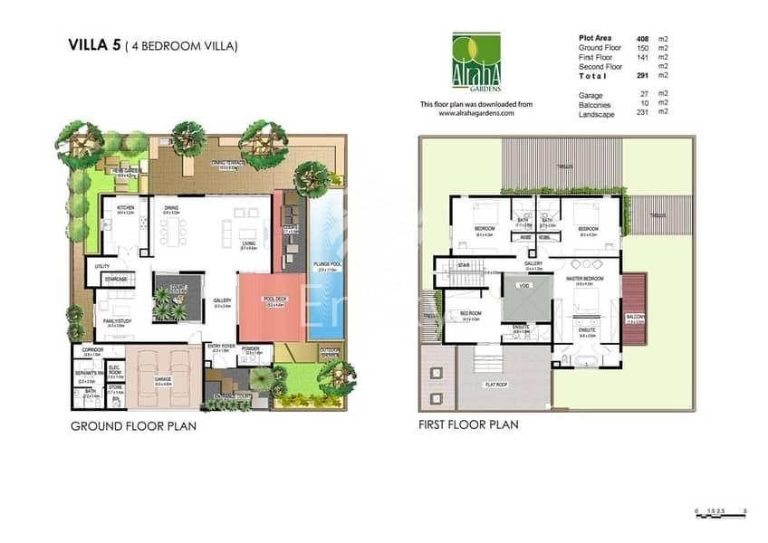 16 fantastic 4 BR typeA villa in Raha Garden