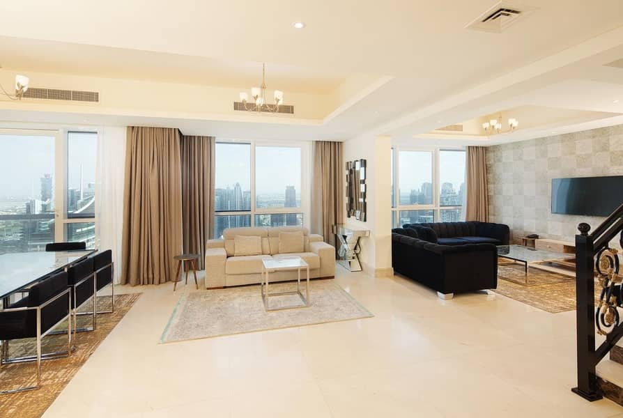 Penthouse- Fully furnished-All bills included- No Commission-Flexable payment