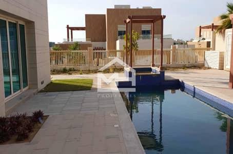 6 Bedroom Villa for Sale in The Marina, Abu Dhabi - Waterfront Big 6 Master Bed Villa+Pool inside City