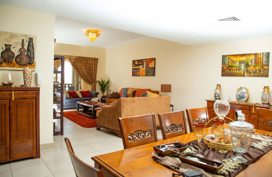 Fully Furnished 2BR For Rent with Lagoon View