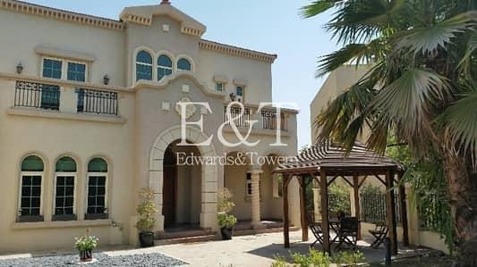 فیلا 4 غرف نوم للايجار في جزر جميرا، دبي - UPGRADED Well Kept Mexican 4 Beds+Maids Villa | JI