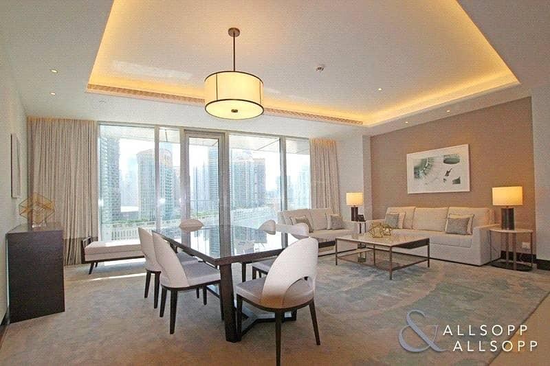 2 3 Bedroom | Center Unit | Full Burj View