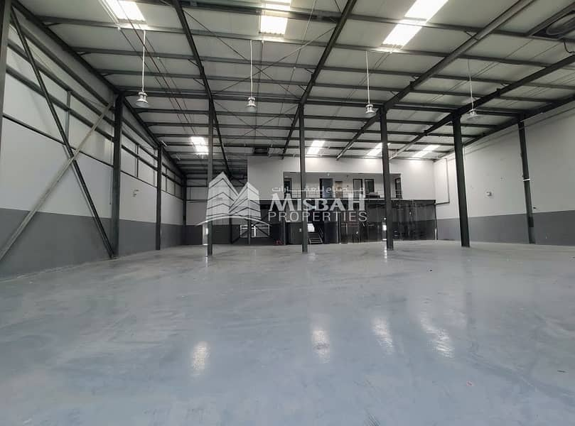 2 80 KW Power:  Beautiful Tax free warehouse with office- for Storage/ commercial/ Joinery/ Carpentry