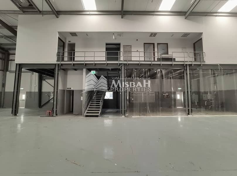 80 KW Power:  Beautiful Tax free warehouse with office- for Storage/ commercial/ Joinery/ Carpentry