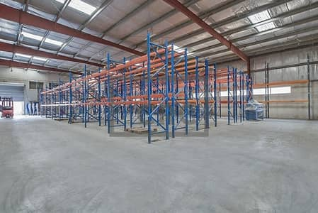 Warehouse for Rent in Al Quoz, Dubai - Warehouse | Office | High Visibility Signage