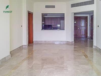 فلیٹ 2 غرفة نوم للايجار في نخلة جميرا، دبي - Stunning Sea View 2 Bedroom Vacant Unfurnished