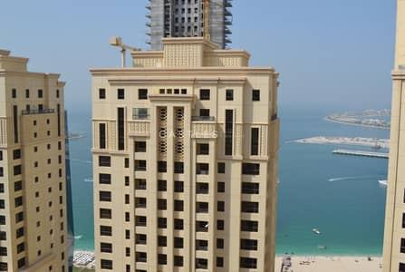 4 Bedroom Penthouse for Sale in Jumeirah Beach Residence (JBR), Dubai - Amazing 4BR Duplex Penthouse with Sea & Marina View