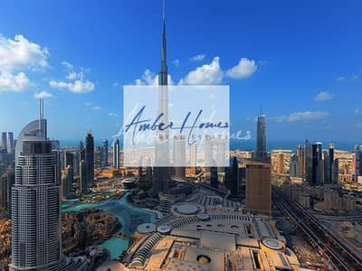 2 Bedroom Hotel Apartment for Sale in Downtown Dubai, Dubai - Fully furnished 2BR with Stunning Burj Khalifa & fountains view