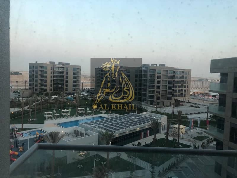 1 Brand New 2BR Elegant Apartment with Balcony for rent in Dubai South | Perfect Location with Pool Views
