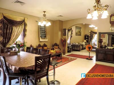 5 Bedroom Villa for Sale in The Villa, Dubai - Exclusive | Upgraded 5 Bed + Maid | Corner