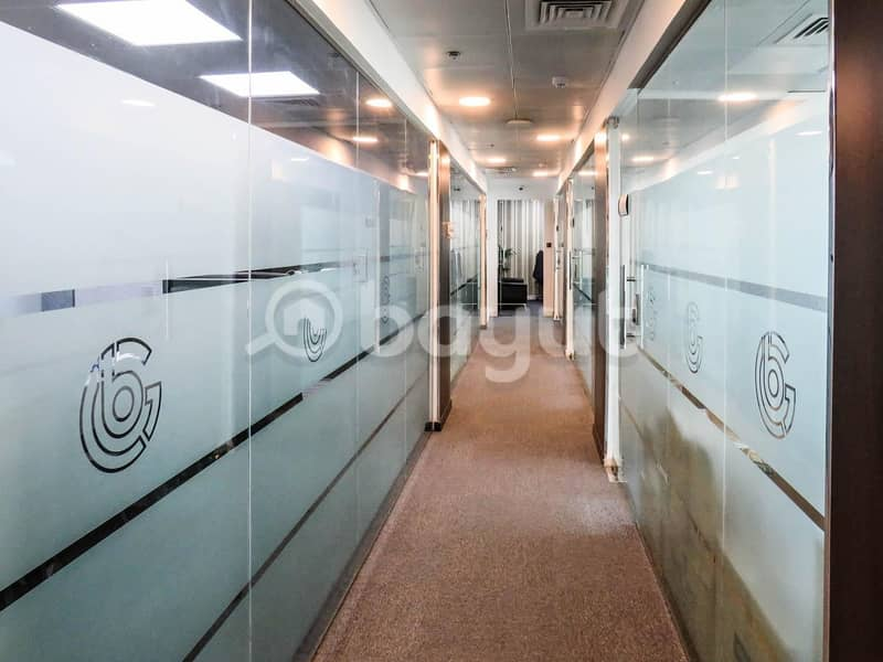 12 200sqft fully furnished office spaces in Binary Tower-  NO COMMISSION!