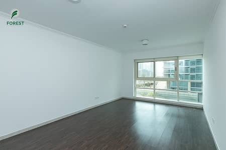 1 Bedroom Flat for Rent in Dubai Marina, Dubai - Unfurnished |Partial Marina View|Vacant 1st wk Oct