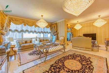 فلیٹ 3 غرف نوم للبيع في دبي مارينا، دبي - Furnished | 4BR + Maids | Full Marina and Sea View