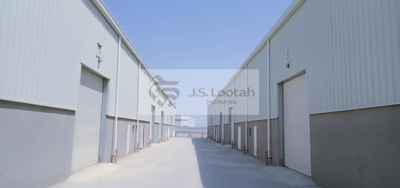 2 Direct from Owner - Brand New Warehouse in DIP - Close to Expo 2020