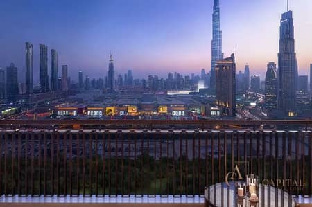 2 Bedroom Apartment for Sale in Downtown Dubai, Dubai - BEAUTIFULLY CONCEIVED APARTMENT IN DOWNTOWN