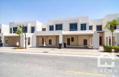 تاون هاوس 3 غرفة نوم للايجار في تاون سكوير، دبي - Cheapest single row Type 2 Landscaped