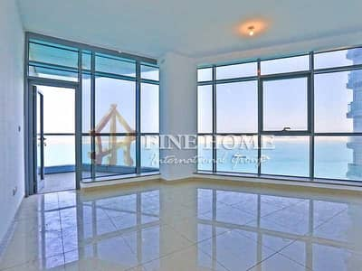 2 Bedroom Flat for Rent in Al Reem Island, Abu Dhabi - No Chiller Fees! 2BR Apartment